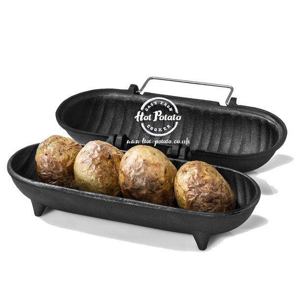 Large Cast Iron Hot Potato - Potato Cooker