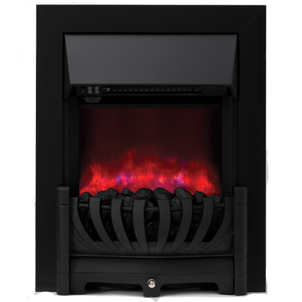 Be Modern Lexus Inset LED Electric Fire - Black