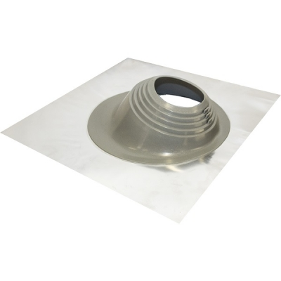 "High Temp Silicone Flashing for Tiled Roof for 5"" Twin Wall Pipe"