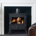 The Olympus 10kw Multifuel Wood Burning Stove