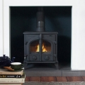 The Victoria 6/7kw Multifuel Wood Burning Stove
