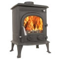 The Eiger 8kw Log Stove and Complete Flue Package