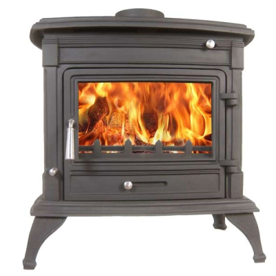 The Matterhorn 14kw Multifuel Wood Burning Stove
