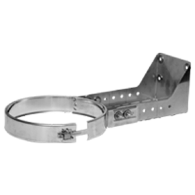 5 Inch (125mm) Adj Wall Spt (Cuttable) 250-430mm+Lock Band