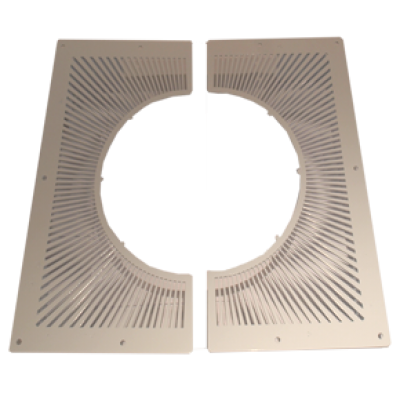 6 Inch (150mm) Ventilated Firestop Plate