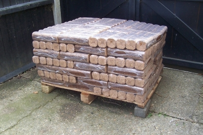 Eco wood for burning on open fires 490kg (Free Delivery)
