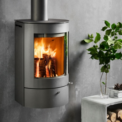 Westfire Uniq 21 5kw Wall Hung Defra Approved Stove