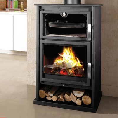 Bronpi Suiza 10kw Wood Burning Stove