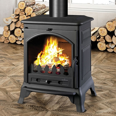 Bronpi Ordesa 10kw Multifuel Wood Burning Stove