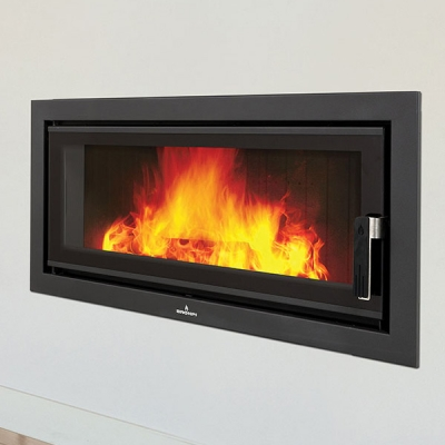 Bronpi Londres Vision Panoramic 21kw Inset Wood Burning Stove
