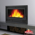 Bronpi Loire Panoramic 13.5kw Inset Wood Burning Stove