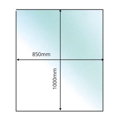 Rectangular - 12mm x 850mm x 1000mm