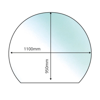 Circle With Slice - 12mm x 1100mm x 950mm