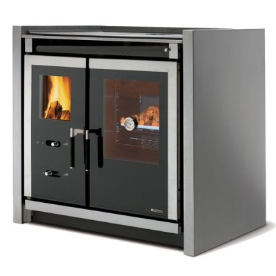 La Nordica Italy Built-In 7.1kw Wood Burning Cooker