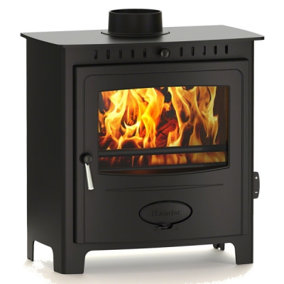 Arada Solution 9 - 8.8kw Multifuel Wood Burning Stove