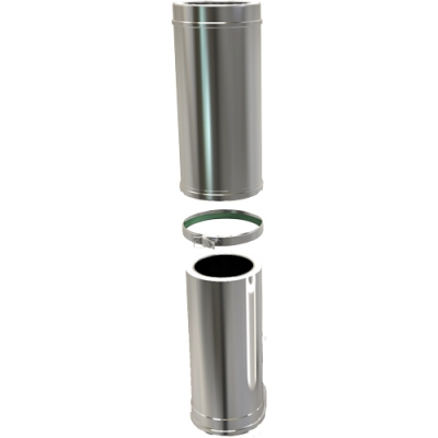 5 Inch Convesa KC 500-880mm Adjustable Length Insulated Pipe