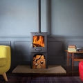 Arada Ecoburn Plus 5 - 4.9kw Defra Multifuel Wood Burning Stove