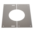 "6"" (150mm) 0-30° Finishing Plate - For Twin Wall Flue Pipe"