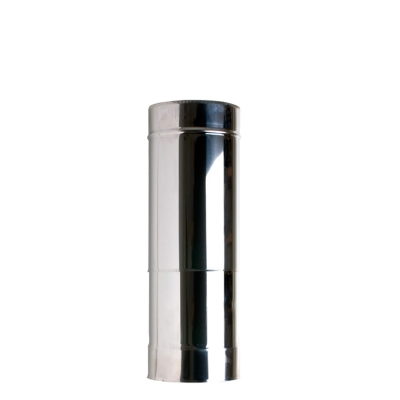 "5"" (125mm) 350mm-500mm Adjustable Length Of Twin Wall Insulated Flue Pipe"