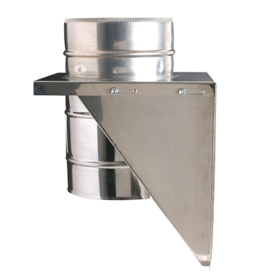 "5"" (125mm) Adjustable Base Support - Twin Wall Insulated Flue Pipe"