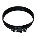 "6"" (150mm) Spare / Replacement Locking Band - For Twin Wall Flue Pipe - Black"