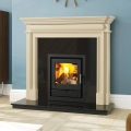 Henley Faro 500 - 8kw Multifuel Wood Burning Cassette Stove