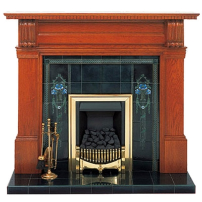 Prestige Timeless Hand Crafted Solid Wood Fire Surround - Oak