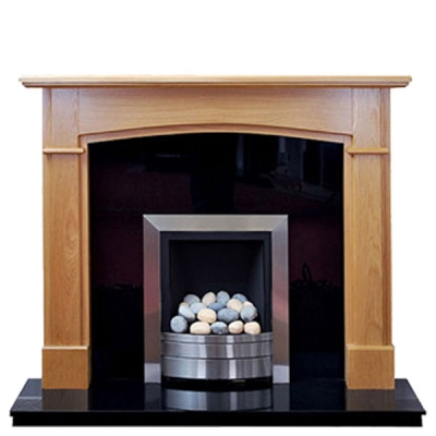 Prestige Hampshire Hand Crafted Solid Wood Fire Surround - Oak