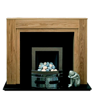 Prestige Boxster Hand Crafted Solid Wood Fire Surround - Oak