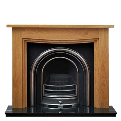 Prestige Waterside Hand Crafted Solid Wood Fire Surround - Oak