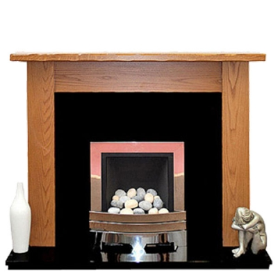 Prestige Minster Hand Crafted Solid Wood Fire Surround - Oak