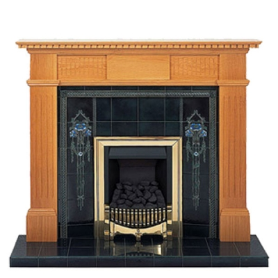 Prestige Sherwood Hand Crafted Solid Wood Fire Surround - Oak