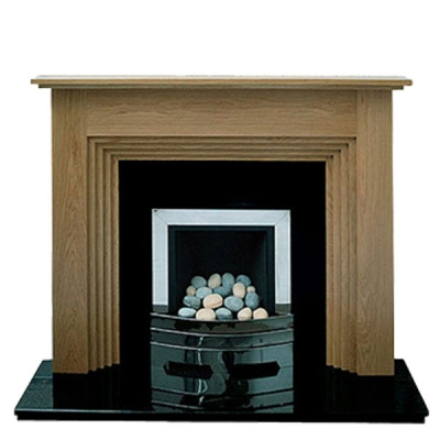 Prestige Bedford Hand Crafted Solid Wood Fire Surround - Oak