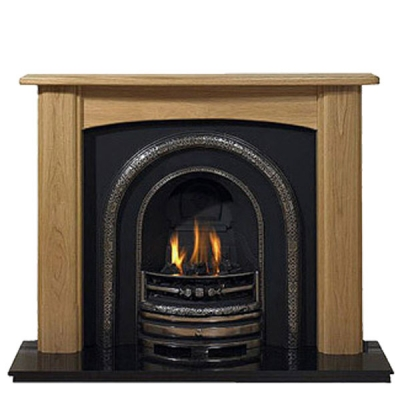 Prestige Newark Hand Crafted Solid Wood Fire Surround - Oak