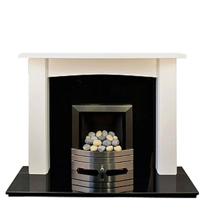 Prestige Newark Hand Crafted Solid Wood Fire Surround - White