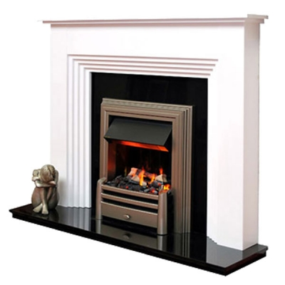 Prestige Twyford Hand Crafted Solid Wood Fire Surround - White