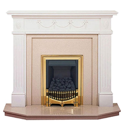 Prestige Chelsea Hand Crafted Solid Wood Fire Surround - White