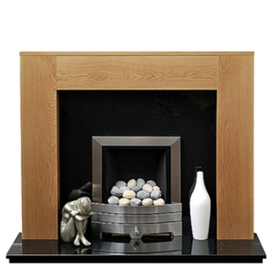 Prestige Lincoln Hand Crafted Solid Wood Fire Surround - Oak