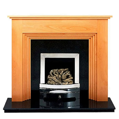 Prestige Twyford Hand Crafted Solid Wood Fire Surround - Beech