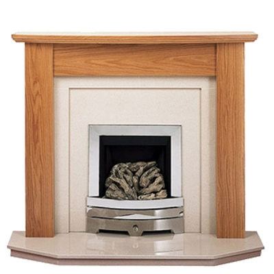 Prestige Orion Hand Crafted Solid Wood Fire Surround - White