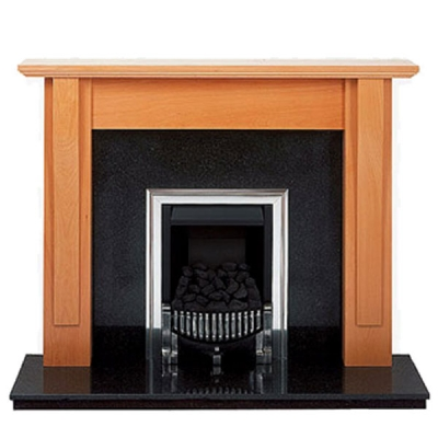 Prestige Shaker Hand Crafted Solid Wood Fire Surround - Oak
