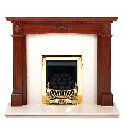Prestige Windsor Hand Crafted Solid Wood Fire Surround - White
