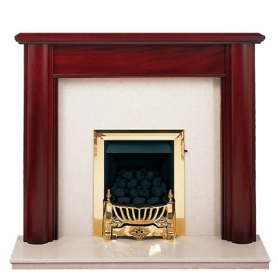 Prestige Maltby Hand Crafted Solid Wood Fire Surround - White