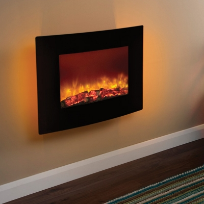 Be Modern Quattro Wall Mounted LED Electric Fire