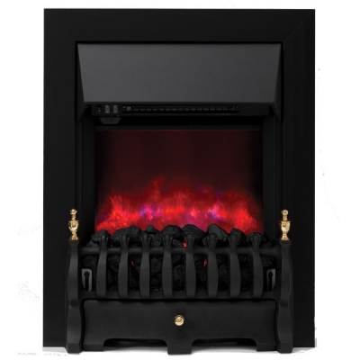 Be Modern Camberley Inset LED Electric Fire - Black