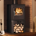 Broseley Serrano 5kw Defra Multifuel Stove With Log Store
