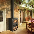 Broseley Serrano 7kw Defra Multifuel Stove With Log Store