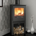 Evolution Desire 5kw Defra Multifuel Stove With Log Store