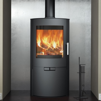 Evolution Flair 8kw Multifuel Wood Burning Stove With Door