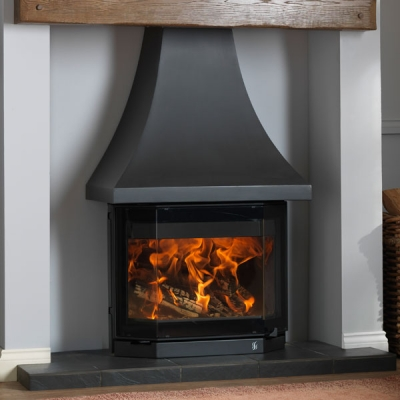 ACR Elmdale 9kw Wood Burning Stove With Canopy